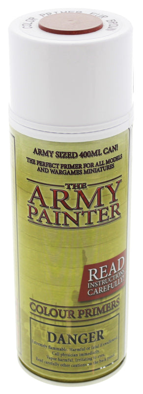 Army Painter Fur Brown Colour Primer | Spellbound Games