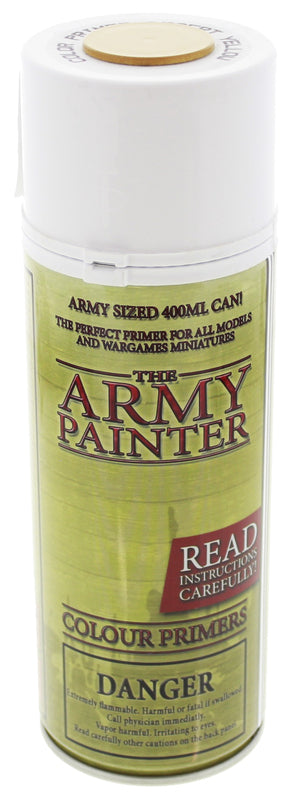 Army Painter Desert Yellow Colour Primer | Spellbound Games