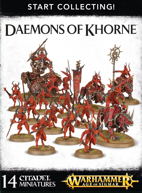 Start Collecting! Daemons Of Khorne  | My Pop Culture | New Zealand