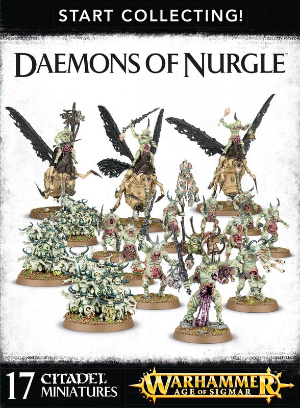 Start Collecting: Daemons of Nurgle | Spellbound Games