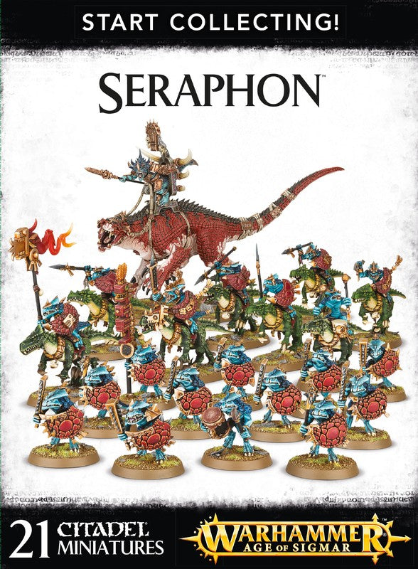 Start Collecting! Seraphon | Spellbound Games