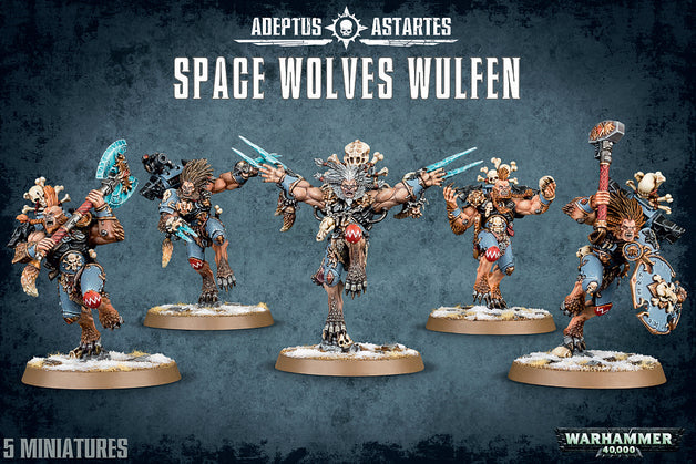 Space Wolves Wulfen | Spellbound Games