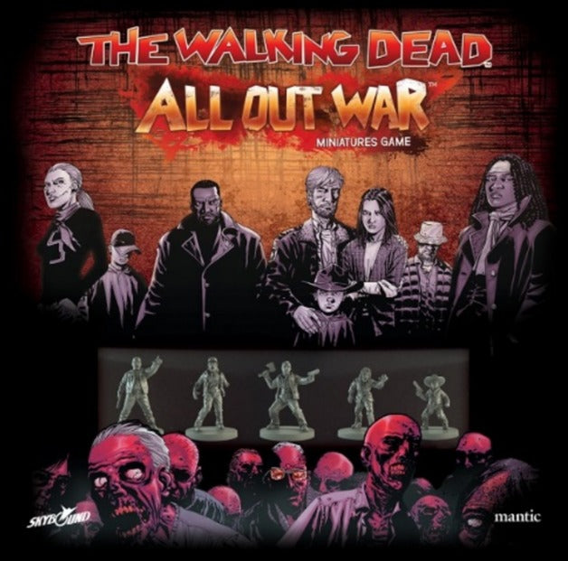 The Walking Dead: All Out War Miniatures Game  | My Pop Culture | New Zealand
