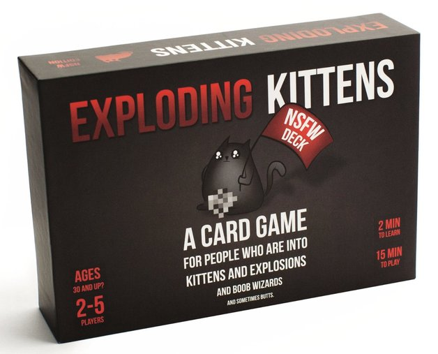 Exploding Kittens - NSFW Edition | Spellbound Games