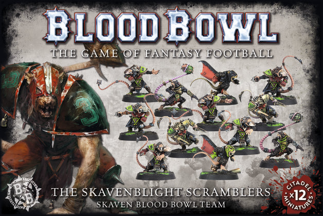 Blood Bowl: The Skavenblight Scramblers  | My Pop Culture | New Zealand