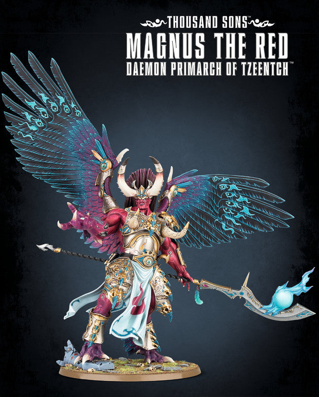 Magnus The Red Daemon Primarch of Tzeentch | Spellbound Games