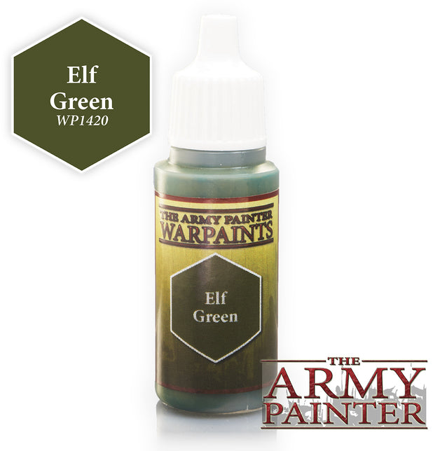 Army Painter Elf Green Warpaint | Spellbound Games