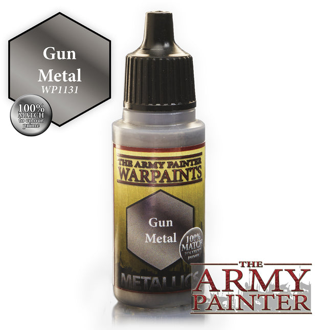 Army Painter Gun Metal Warpaint | Spellbound Games