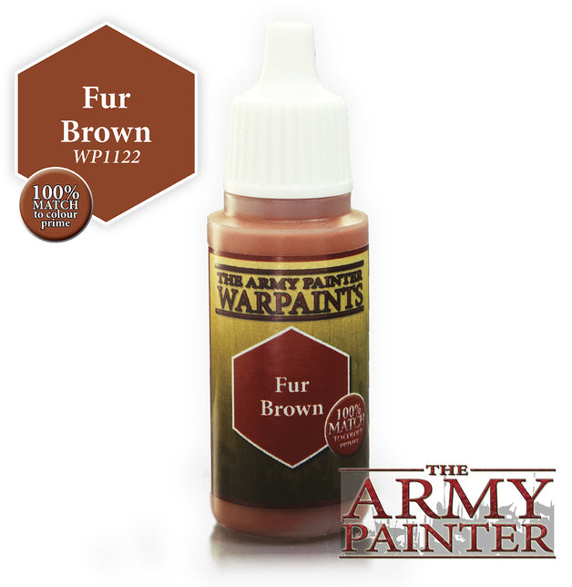 Army Painter Fur Brown Warpaint | Spellbound Games