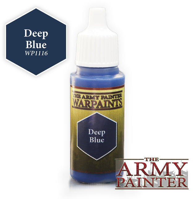 Army Painter Deep Blue Warpaint | Spellbound Games