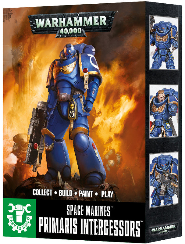 Easy to Build Primaris Intercessors | Spellbound Games