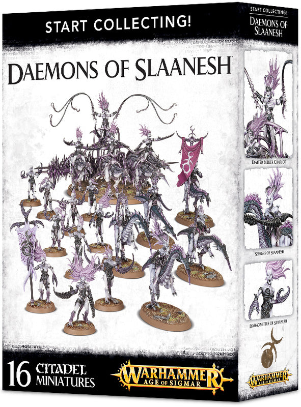 Start Collecting! Daemons Of Slaanesh | Spellbound Games