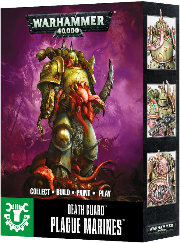 Easy Build Plague Marines | Spellbound Games