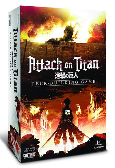 Attack On Titan: Deck Building Game  | My Pop Culture | New Zealand