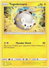 Togedemaru - 74/236 (74/236) [SM - Cosmic Eclipse] | Spellbound Games