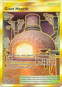 Giant Hearth (Secret) (263/236) [SM - Cosmic Eclipse] | Spellbound Games