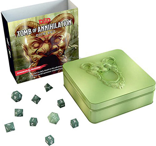 Dungeons & Dragons Tomb of Annihilation Dice Set | Spellbound Games