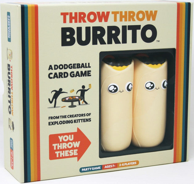 Throw Throw Burrito | Spellbound Games