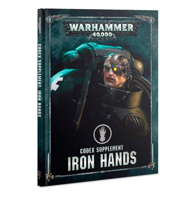 Iron Hands - Codex Supplement | Spellbound Games