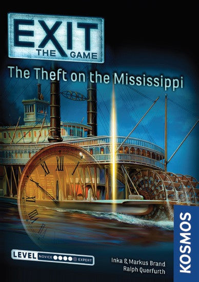 Exit: The Game – Theft on the Mississippi | Spellbound Games