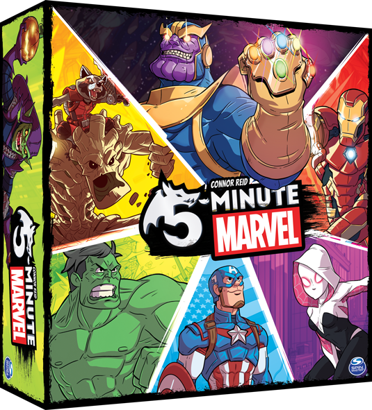 5 Minute: Marvel | Spellbound Games