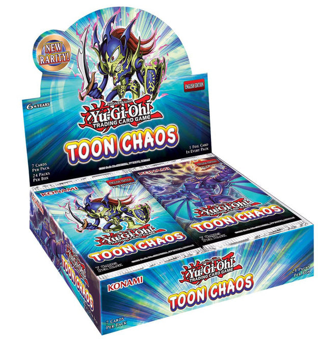 Yu-Gi-Oh! Toon Chaos Booster Box (Unlimited Edition) | Spellbound Games