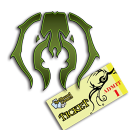 Guilds of Ravnica Prerelease Ticket - Golgari