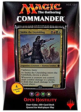 Saskia the Unyielding Commander Deck | Spellbound Games
