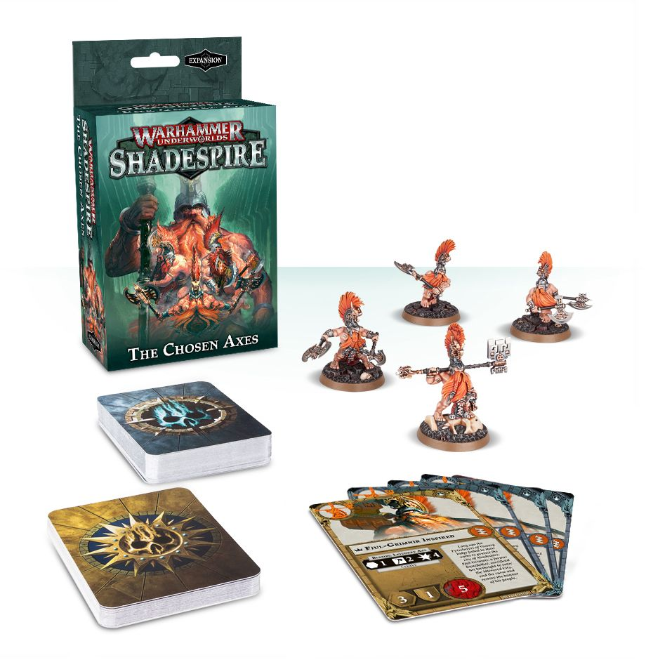 Shadespire – The Chosen Axes  | My Pop Culture | New Zealand