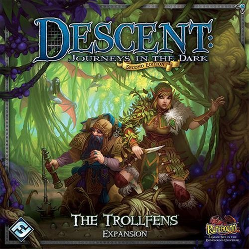 Descent: Journeys in the Dark 2nd Edition - The Trollfens Expansion | Spellbound Games