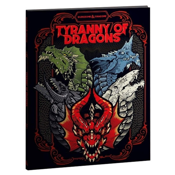 Tyranny of Dragons (Hoard of the Dragon Queen/The Rise of Tiamat) Exclusive Cover | Spellbound Games
