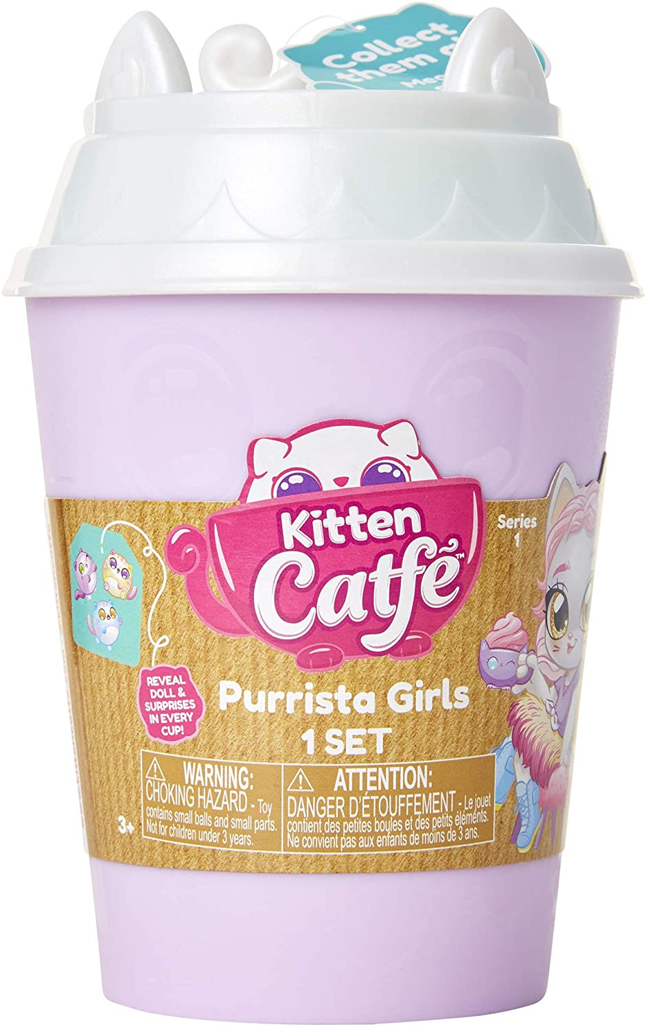 Kitten Catfe Purrista Girls Series 1 | Spellbound Games