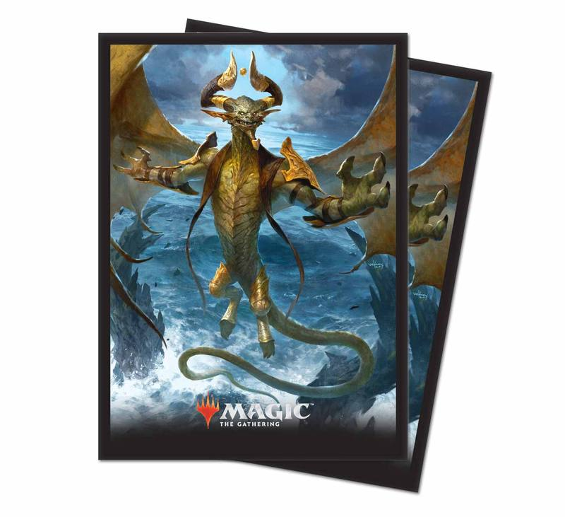MAGIC M19 DECK PROTECTOR SLEEVES NICOL BOLAS, THE ARISEN | Spellbound Games