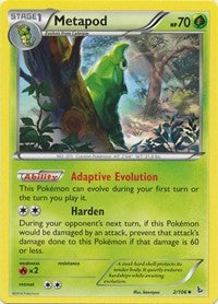 Metapod (2) [XY - Flashfire] | Spellbound Games
