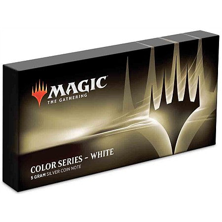 Magic: The Gathering Color Series - White 5g Silver Coin | Spellbound Games