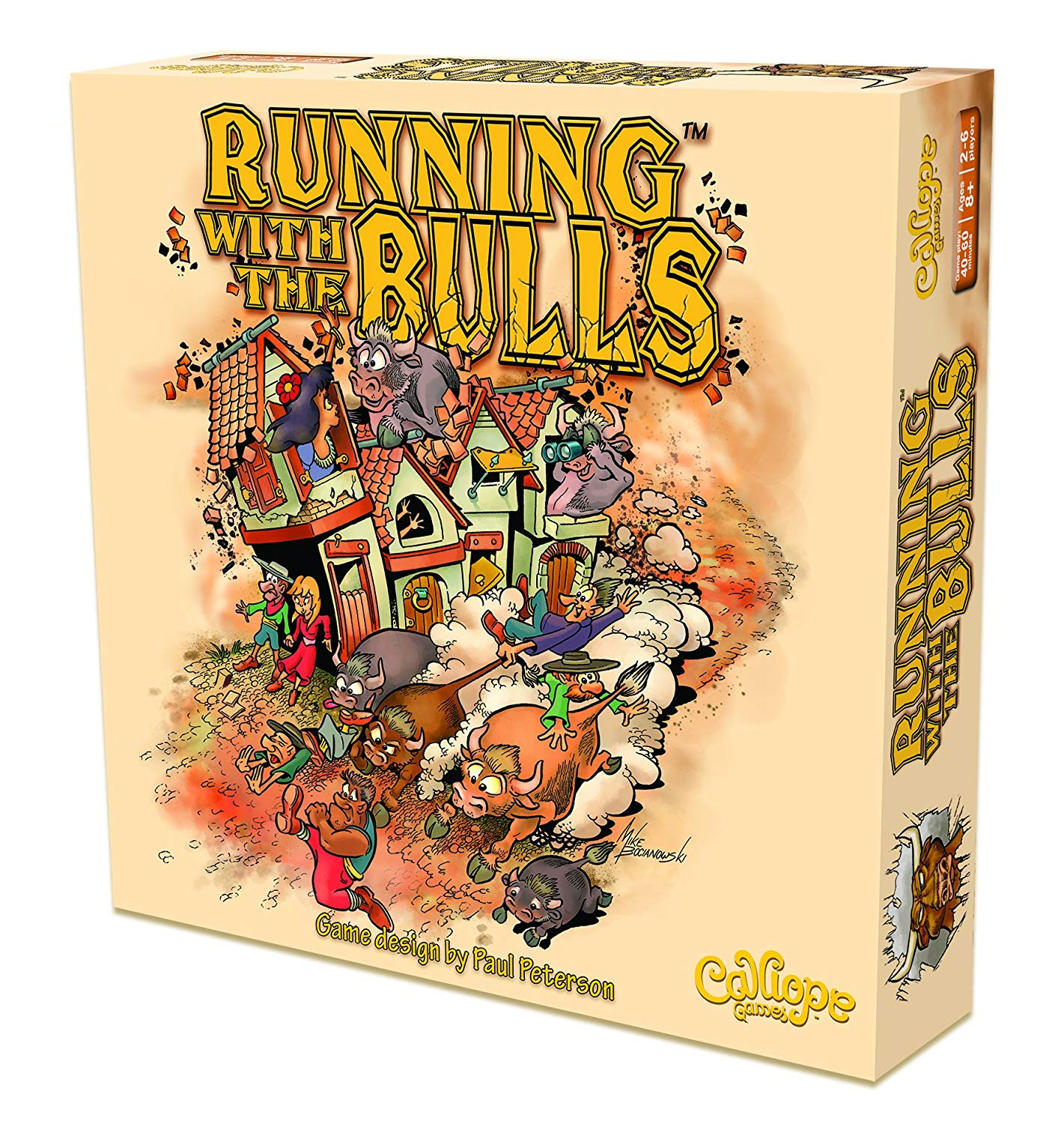 Running With the Bulls | Spellbound Games