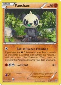 Pancham (59) (59) [XY - Furious Fists] | Spellbound Games