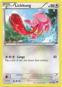 Lickitung (78) [XY - Furious Fists] | Spellbound Games
