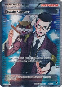 Battle Reporter (109 Full Art) (109) [XY - Furious Fists] | Spellbound Games