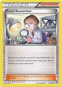 Fossil Researcher (92) [XY - Furious Fists] | Spellbound Games
