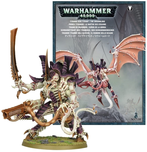 Tyranid Hive Tyrant / The Swarmlord | Spellbound Games
