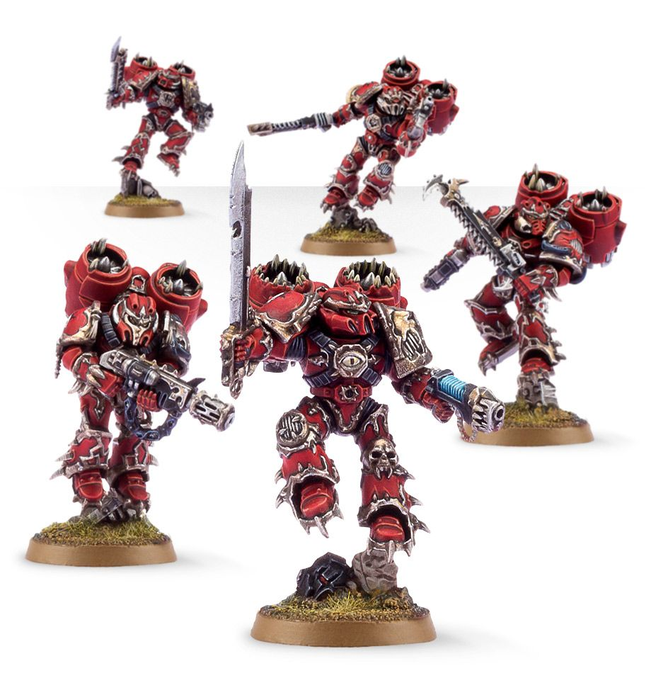Chaos Space Marine Raptors | Spellbound Games