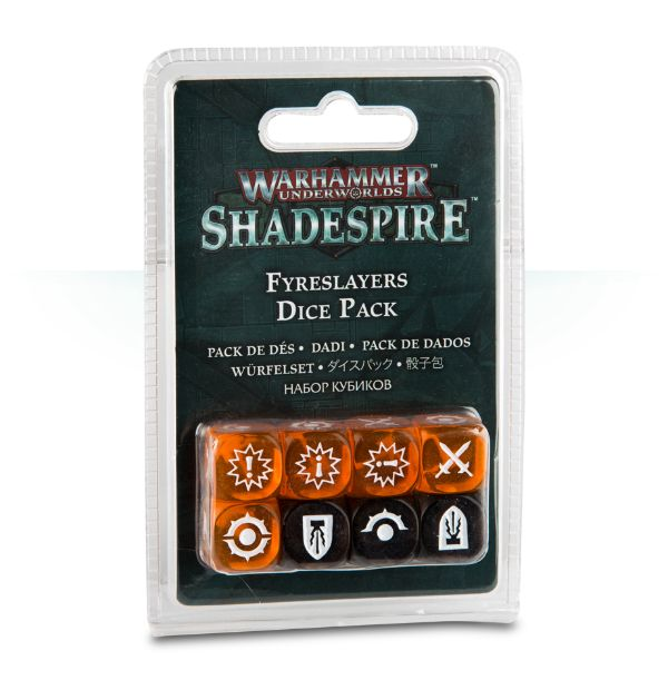 Shadespire – Fyreslayers Dice Pack  | My Pop Culture | New Zealand
