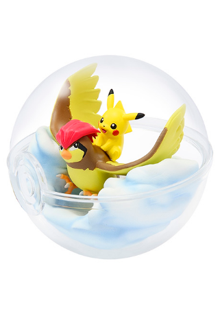 Pokemon Terrarium Collection - Pikachu & Pigeon | Spellbound Games