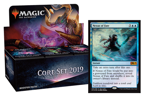 Magic 2019 Booster Box + Buy A Box (Advance Preorder)