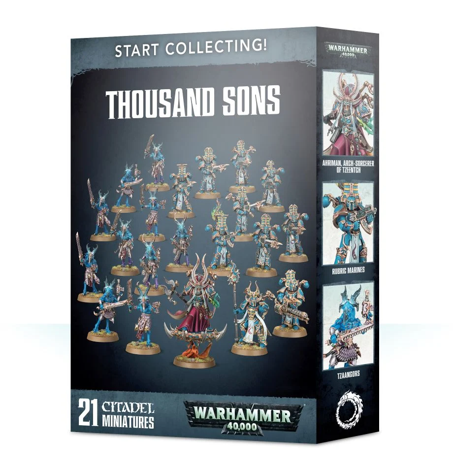 Start Collecting! Thousand Sons | Spellbound Games