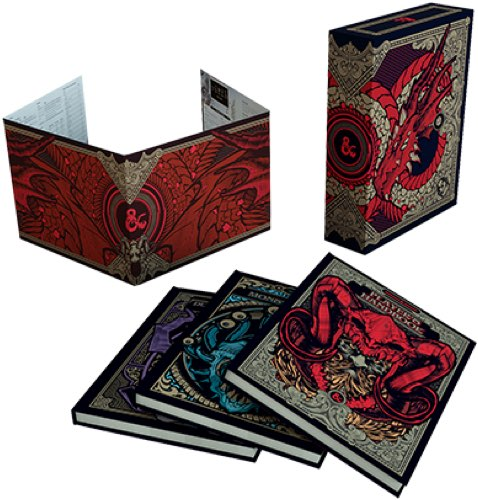 Dungeons & Dragons Core Rules Gift Set (Exclusive) | Spellbound Games