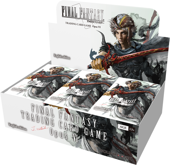 Final Fantasy Opus VI Booster Box | Spellbound Games