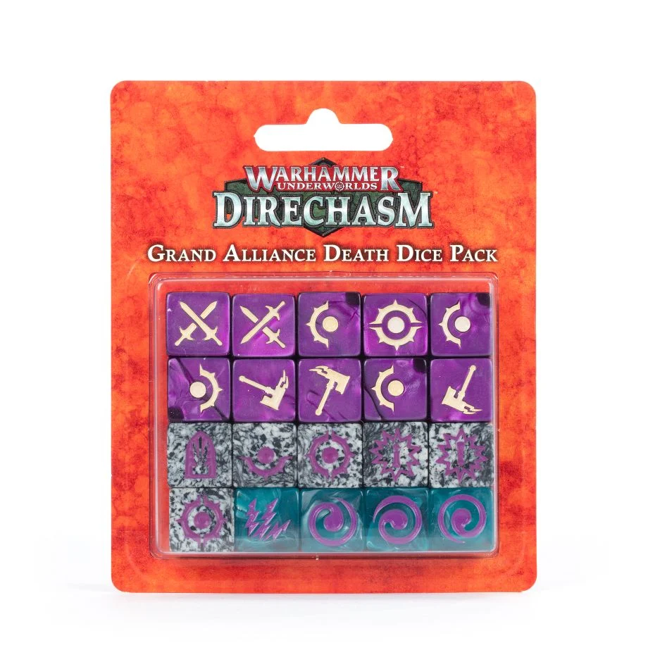 Warhammer Underworld - Grand Alliance Death Dice Pack | Spellbound Games