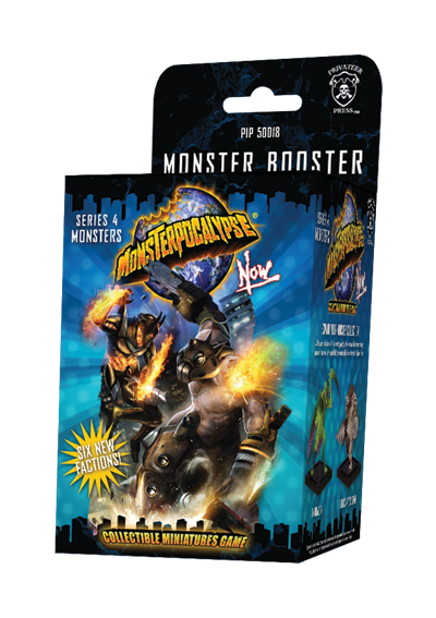 Monsterpocalypse - Series 4 Monsters | Spellbound Games